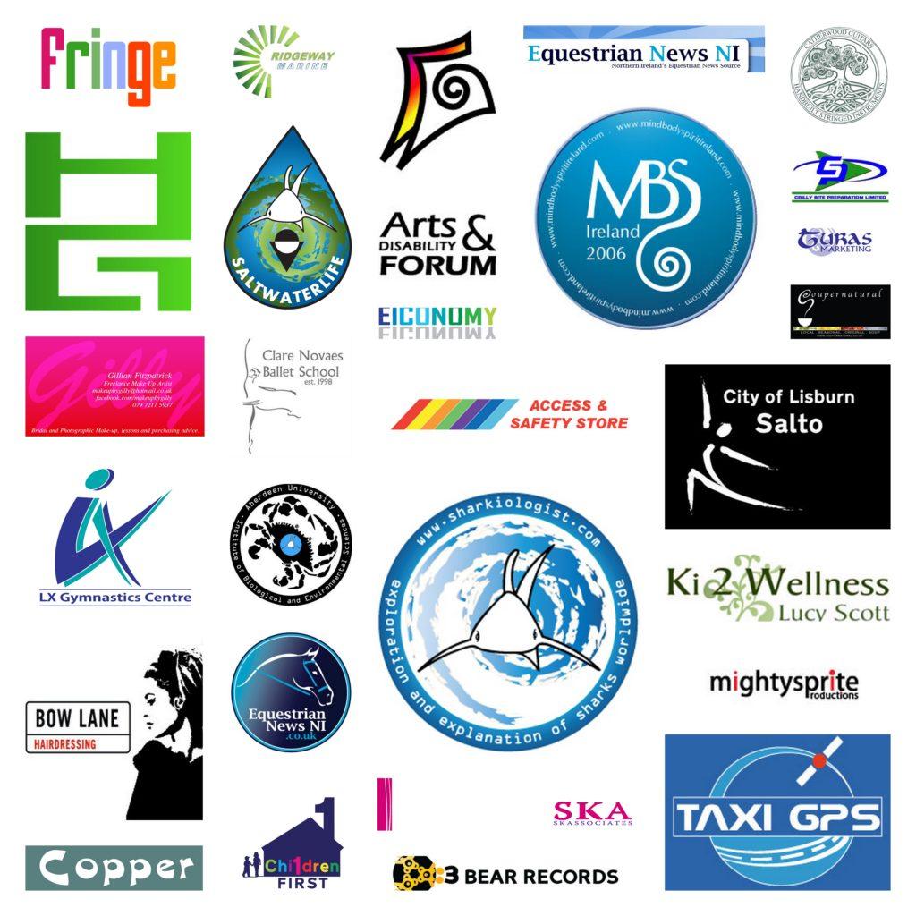 Sanphire Design logo collage
