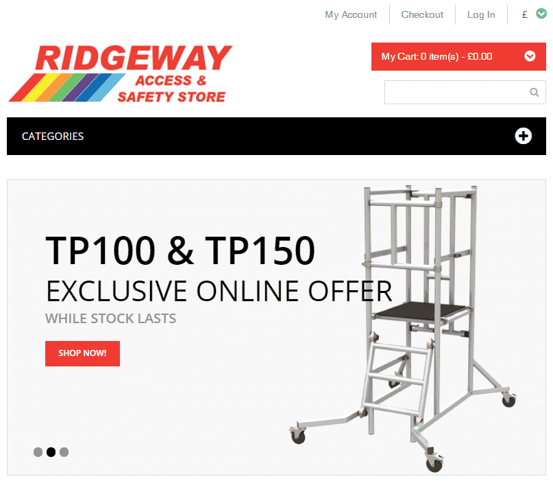 Ridgeway's access and safety store