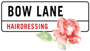 bow lane logo with rose