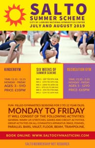 Salto summer scheme promotion