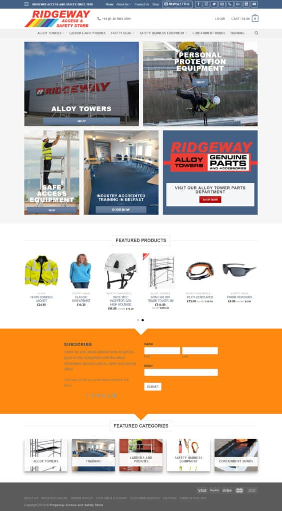 access and safety store website