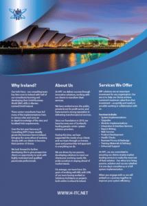HITC A4 leaflet side 2