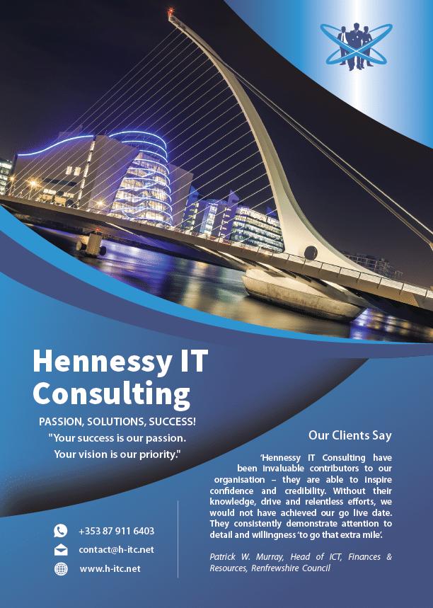 HITC A4 leaflet front