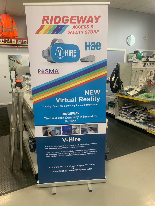 VR-hire at Ridgeway