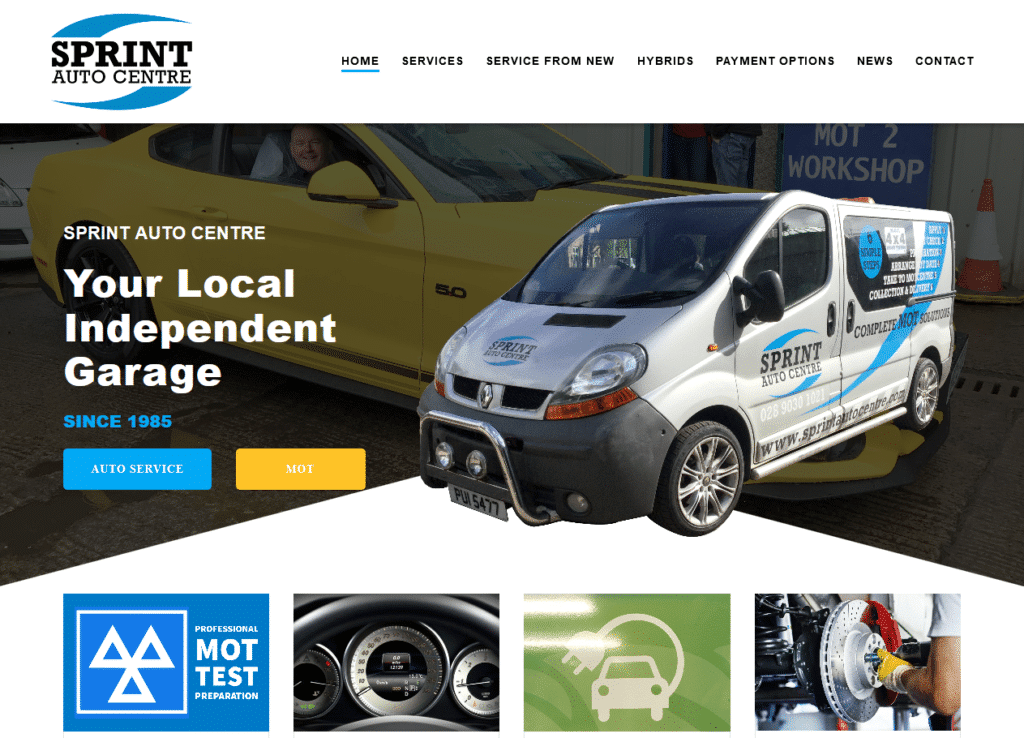 Sprint Auto Centre – Your Neighbourhood Garage