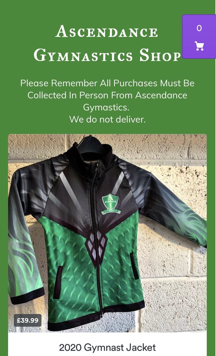 Ascendance Gymnastics Shop