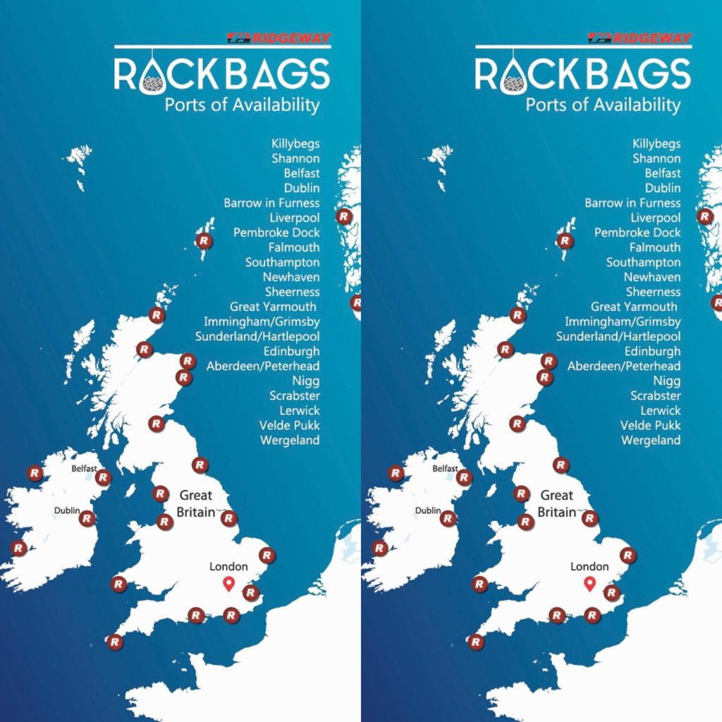 Rockbags availability map