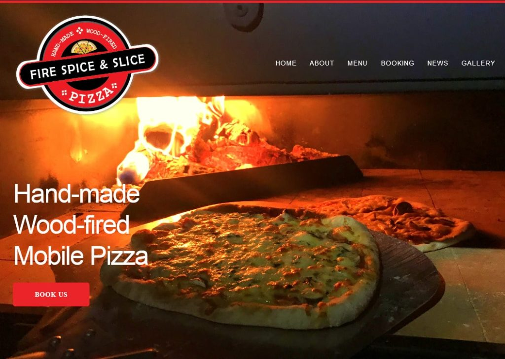 Fire Spice and Slice website