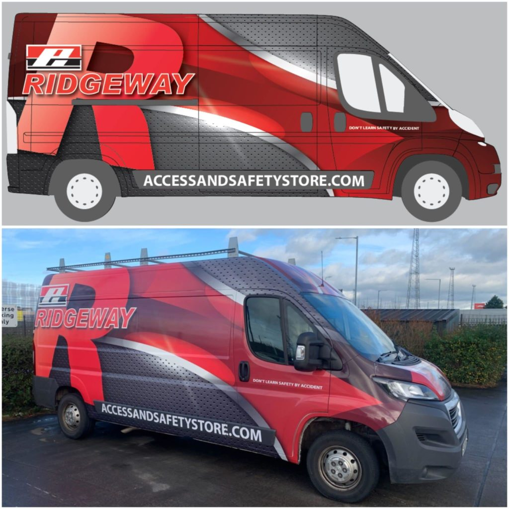 Ridgeway vehicle graphics