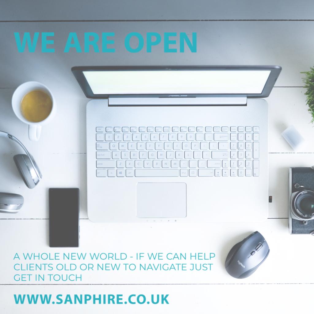Sanphire Design is open